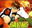 Игра сохраните искру с Беном 10 (Ben 10 game Saving SparkSville)